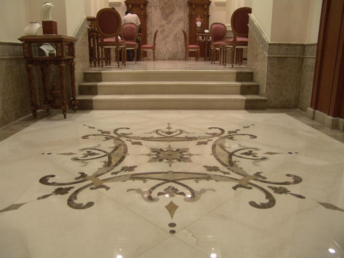 marble-flooring 43 Modern And Creative Ideas Of Flooring Designs