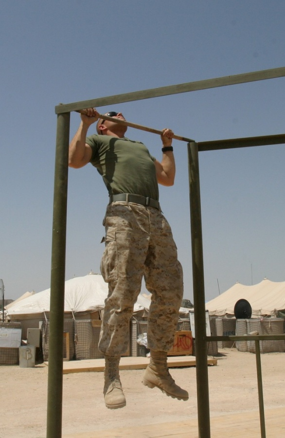 marine_pull-ups-credit-usmc1 What Are the Military Workouts?