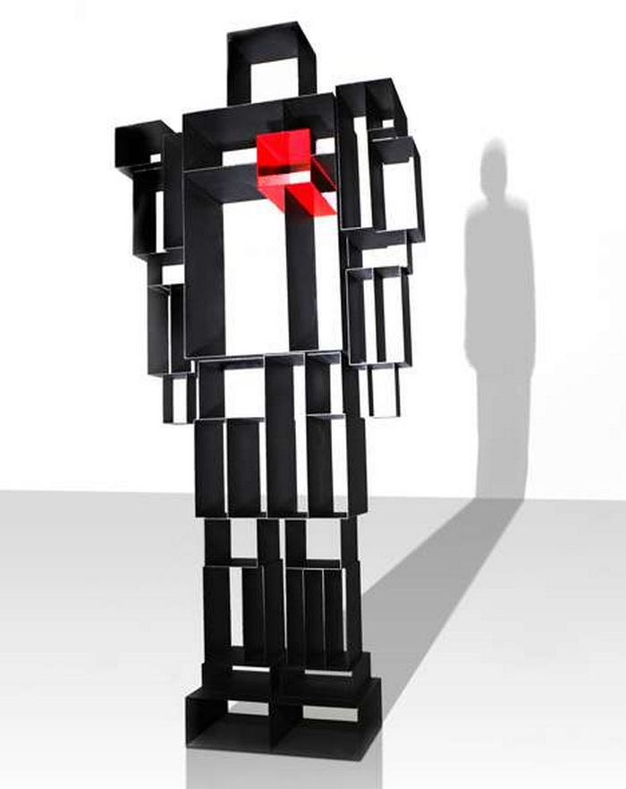 mega-box-storage-rack-futuristic-mix-matched-The-Robox-1 40 Unusual and Creative Bookcases