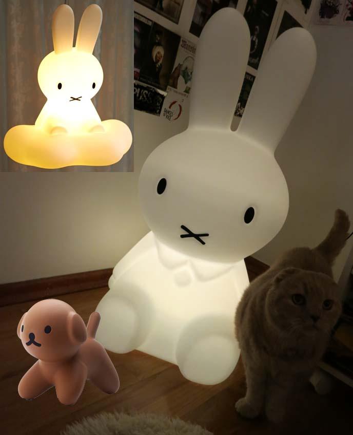 miffy_lamp_mr_maria_light_interior_design_bunny_lamps_8 30 Most Creative and Unusual lamp Designs