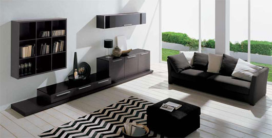 minimalist-living-01 +20 Modern Ideas For Living Rooms Designs