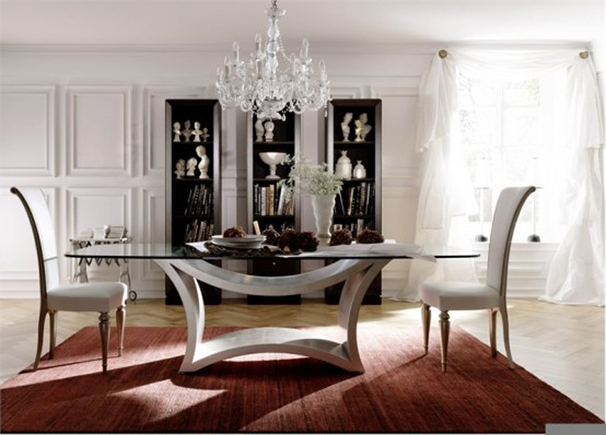 minimalist-table-chair-dining-room-design 28 Elegant Designs For Your Dining Room