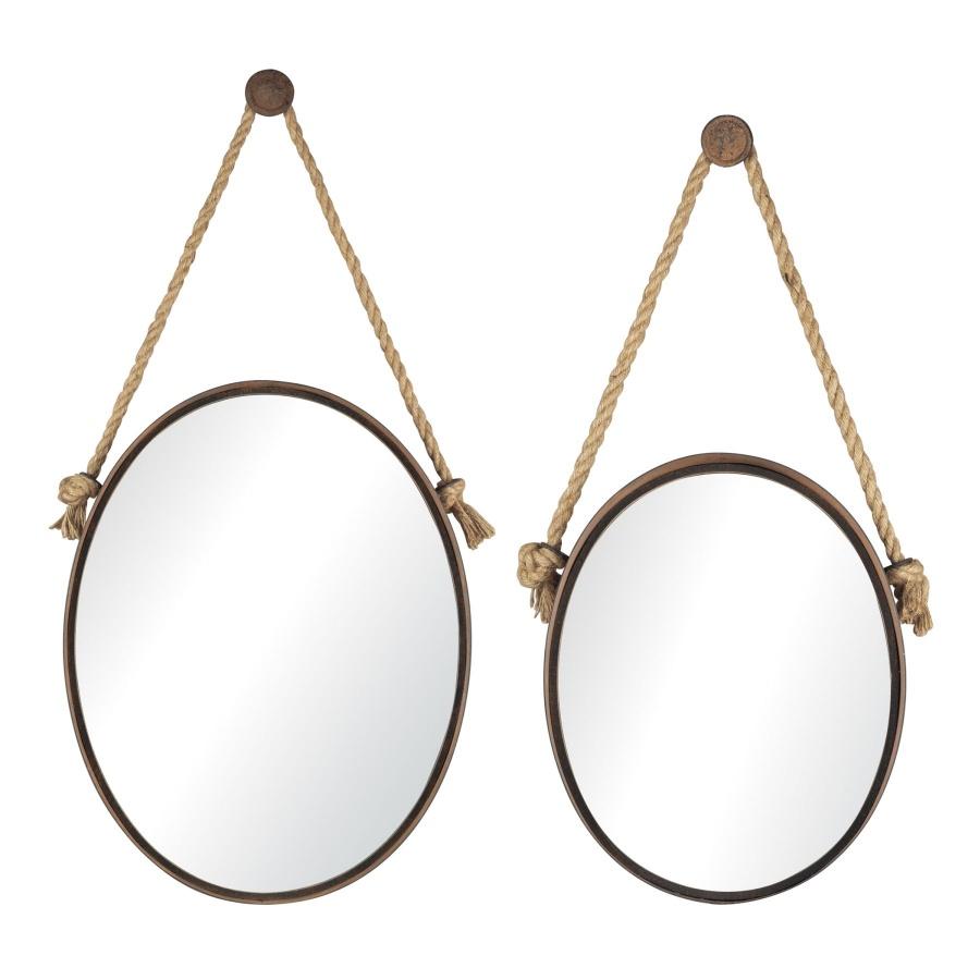 mirror 25 Creative Rope Decor Design Ideas