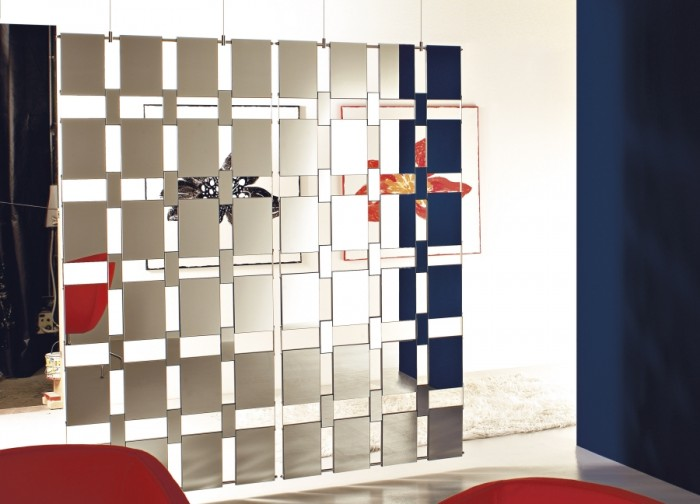 mirror1 40 Most Amazing Room Dividers