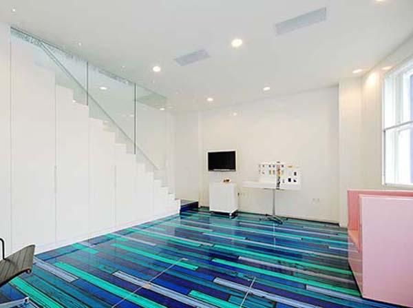 modern-blue-floor-design 43 Modern And Creative Ideas Of Flooring Designs