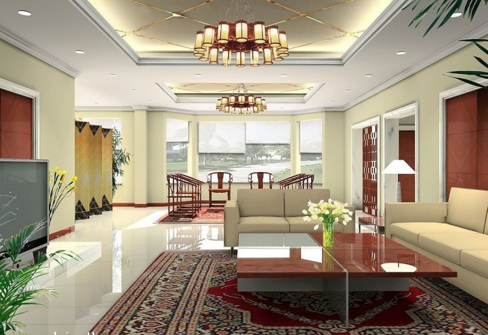 modern-pop-ceilings-lighting-design-ideas-for-living-room1 Fantastic Ceiling Designs For Your Home