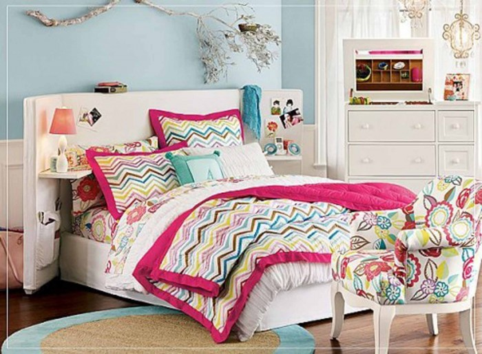 Modern ideas of room designs for teenage girls pouted - Modern teenage girl bedroom ...
