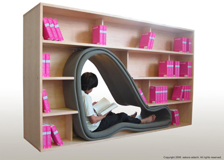 modernshelves29 26 Of The Most Creative Bookshelves Designs
