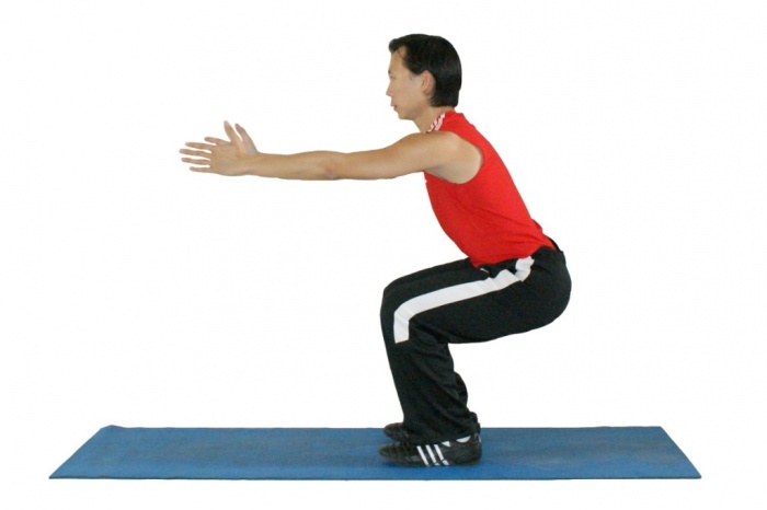modified-shijie-body-weight-squat How to Increase Your Vertical Jump by 12 Inches in Few days