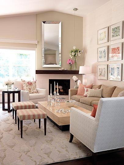 neutral-living-room +20 Modern Ideas For Living Rooms Designs