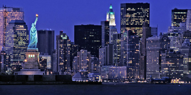 New York City Is The Most Populous City In United