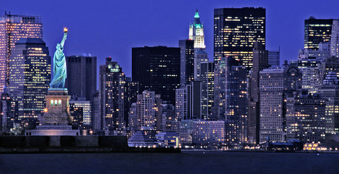 "Photo of ""New York City"" Is The Most Populous City In The United States"