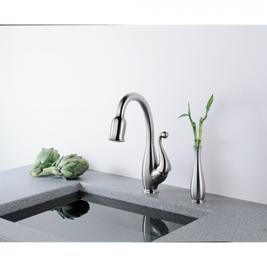 one-handle 40 Breathtaking and Unique Bathroom Faucets