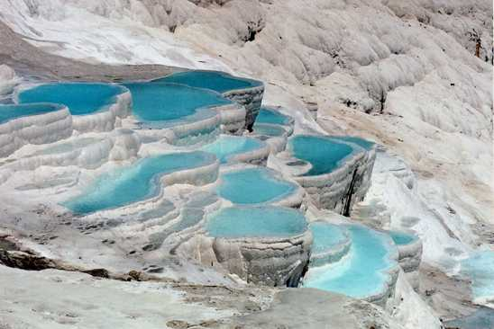 pamukkale 25 Unbelivable Places Which You'll Hardly Believe Its Existence In The World