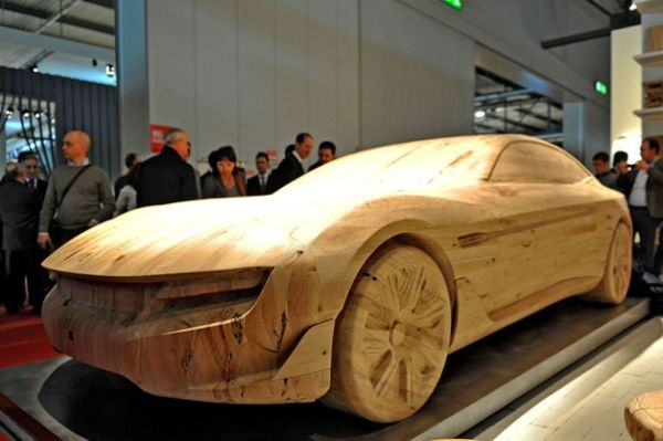 pininfarina_cambiano_carved_from_wood_xvuxg 24 Amazing Wooden Installations Art