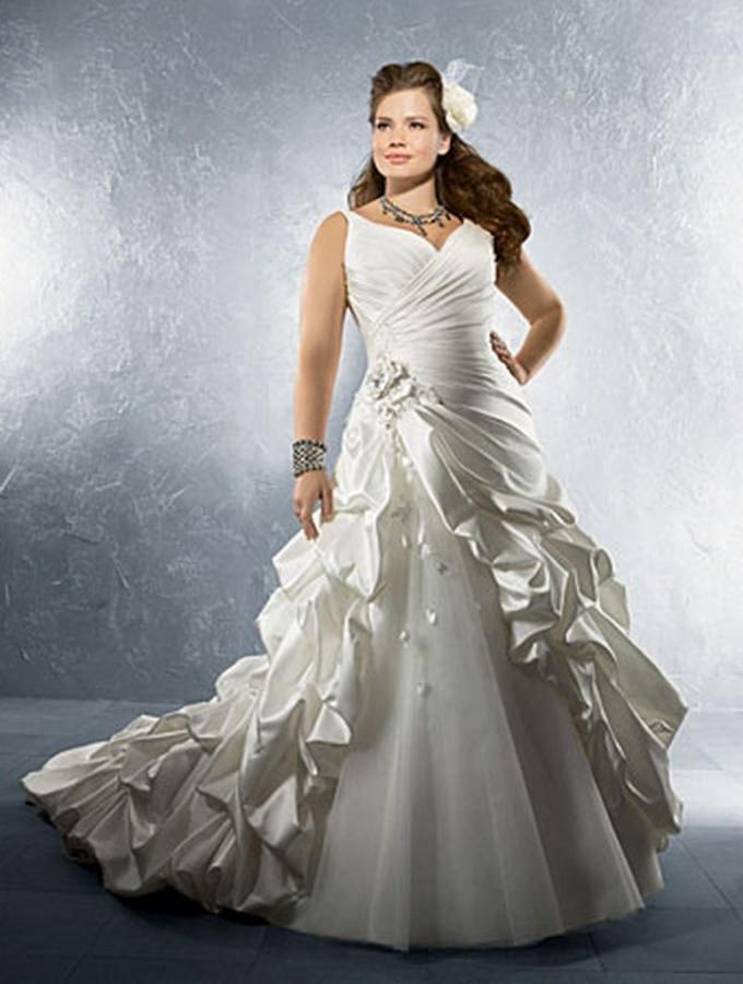 plus-size-bridesmaid-dresses Tips To Choose The Perfect Plus Size Bridal Dress...