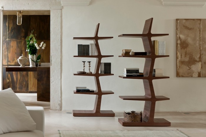 porada_zeus_canaletta_bookcase 40 Unusual and Creative Bookcases