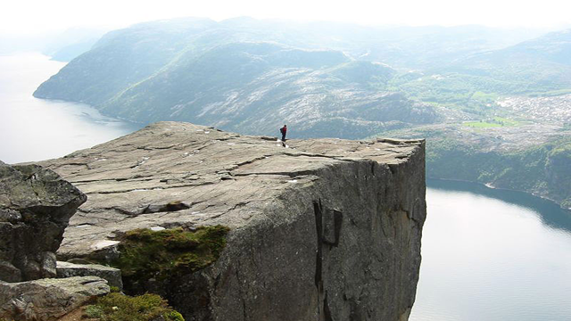 preikestolen Top 25 Places You Have To See Before You Die...