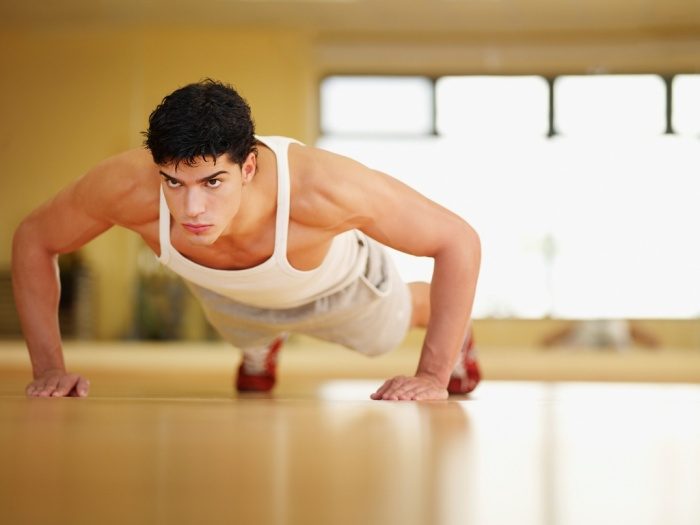 push-up 10 MMA Workouts to Achieve Fitness