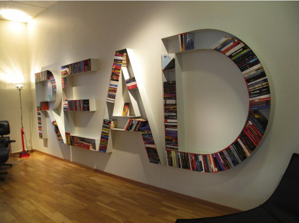 read_books-resized 40 Unusual and Creative Bookcases