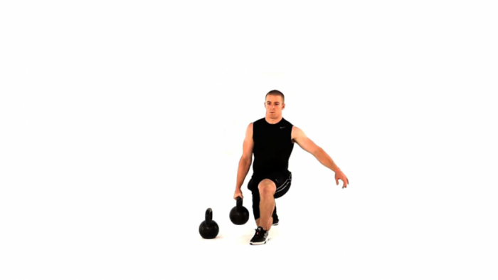 reverse-lunge-with-kettlebell What Are the Military Workouts?