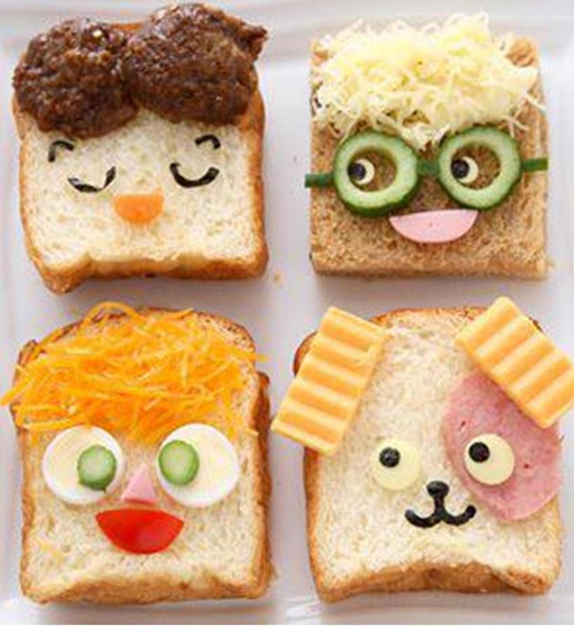 sandwiches 30 Creative Ideas For Food Presentation