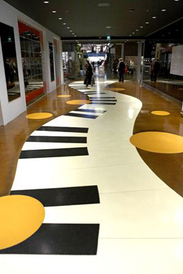 self-leveling-floor-flooring-ideas-5 43 Modern And Creative Ideas Of Flooring Designs
