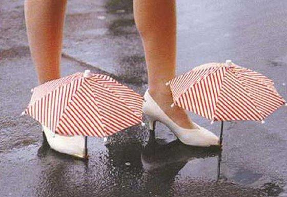 shoe 18 Insanely Unique Umbrellas
