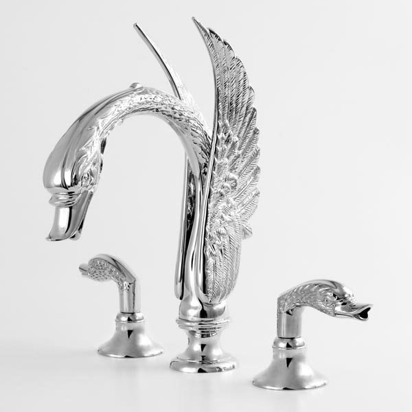 sigma-swan-roman-tub-faucet-1133777 40 Breathtaking and Unique Bathroom Faucets