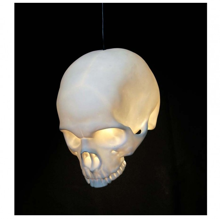 skull 30 Most Creative and Unusual lamp Designs