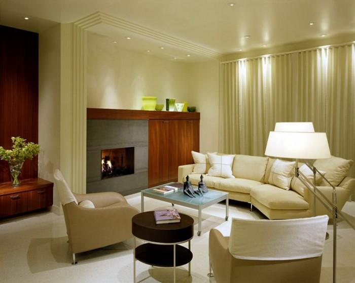 sophisticated-design-ideas-modern-white-living-room-interior +20 Modern Ideas For Living Rooms Designs