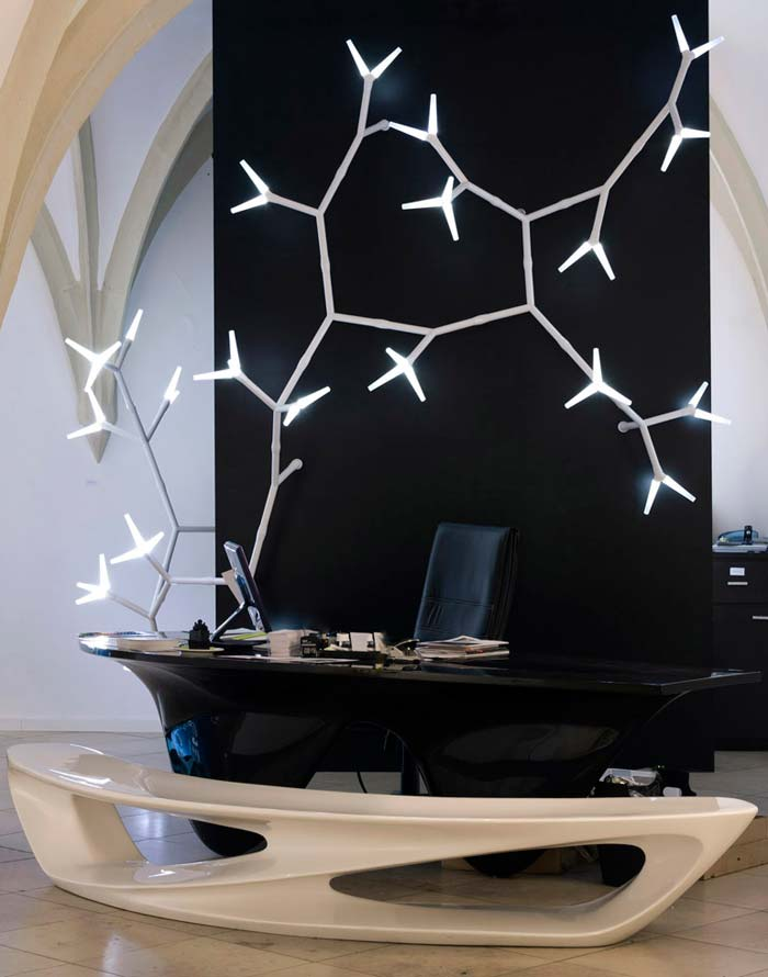 sparks-modular-and-creative-lamp 30 Most Creative and Unusual lamp Designs