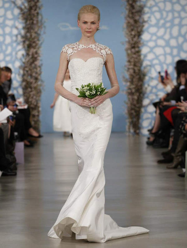 spring-2014-oscar-de-la-renta-wedding-dresses-13 19 Most Breathtaking Bridal Dresses Ideas For 2019