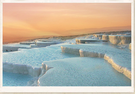 strange-places-pamukkale 25 Unbelivable Places Which You'll Hardly Believe Its Existence In The World