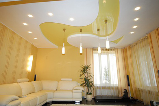 stretch-film-ceiling-design-ideas1 Fantastic Ceiling Designs For Your Home