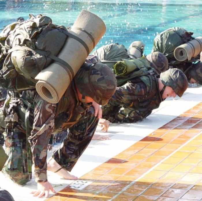 swimming What Are the Military Workouts?