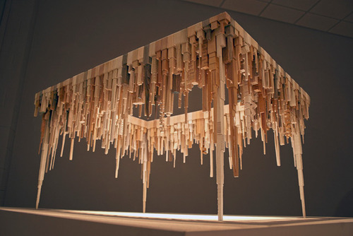 tumblr_mh346kr00g1qj13nfo1_500 24 Amazing Wooden Installations Art