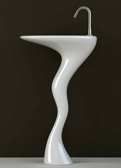 unique-vessel-sink-designs-3 40 Catchy and Dazzling Bathroom Sinks