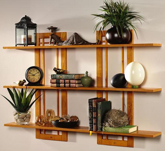 Decorating Wall Shelves Tips : Wall shelves design ideas pouted magazine