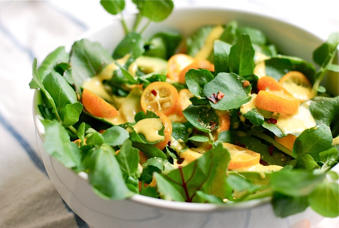 watercress-kumquat-salad-1 For Health Seekers, Watercress Has Bountiful Health Benefits