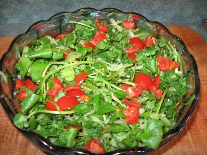 watercress-salad For Health Seekers, Watercress Has Bountiful Health Benefits
