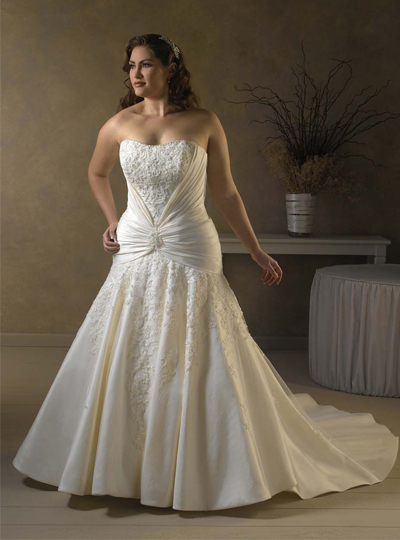 wedding-dress-plus-size-2013-1 Tips To Choose The Perfect Plus Size Bridal Dress...