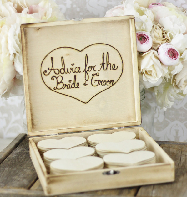 wedding-guest-book-box Unique And Creative Guest Book Ideas For Your Wedding Day