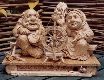 wood-sculpture6 24 Amazing Wooden Installations Art