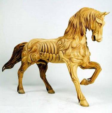 wood-sculpture81 24 Amazing Wooden Installations Art