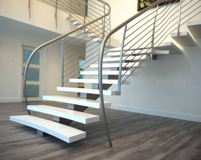 10-staircase-design-ideas-for-a-contemporary-home-adelto-7257 Decorate Your Staircase Using These Amazing Railings