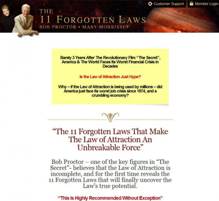 11forgottenlawscom Discover the Secrets to Explode the Full Power of the Law of Attraction