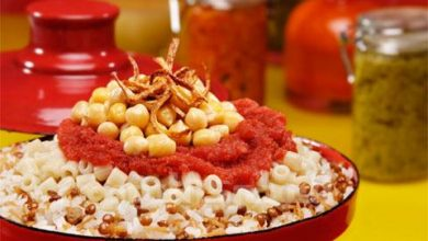 "Photo of The National Dish Of Egypt ""Koshary"" With Its Recipe"