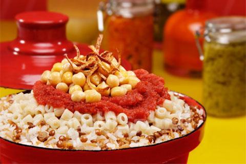 "12 The National Dish Of Egypt ""Koshary"" With Its Recipe"