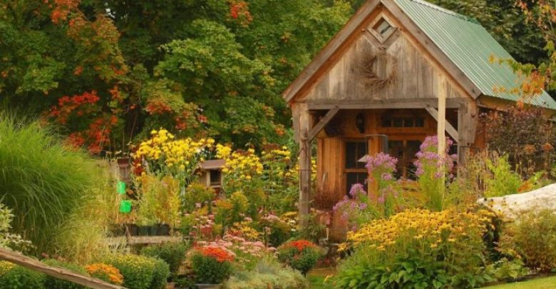 Photo of 13 Impressive Rustic Garden Style With Its Attractive Elements
